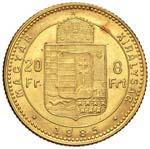 UNGHERIA Franz Joseph (1848-1916) 8 Fiorini ...