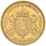 UNGHERIA Franz Joseph (1848-1916) 20 Corone ...