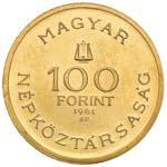 UNGHERIA 100 Fiorini 1961 Bartok - Fr. 615 ...