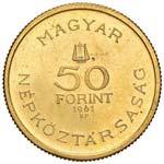 UNGHERIA 50 Fiorini 1961 Bartok - Fr. 616 AU ...