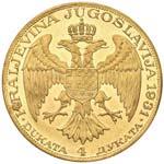 YUGOSLAVIA Alexander I (1921-1934) 4 Ducati ...
