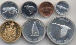 CANADA Divisionale 1967: 20 Dollari, ecc.  - ...