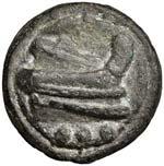 Anonime - Quadrante (240-225 a.C.) Testa di ...