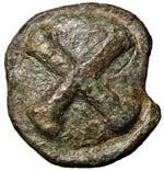 APULIA Luceria - Quincunx (dopo il 220 a.C.) ...