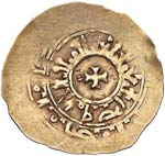 AMALFI Ruggiero II (1121-1130) Tarì d'oro ...