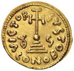 BENEVENTO Gisulfo II (742-751) Solido - MIR ...