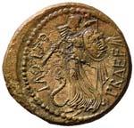 Cesare - Asse - Busto della Vittoria a d. - ...
