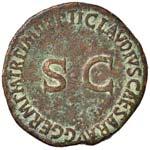 Germanico (+ 19 d.C.) Asse - Testa a d. - R/ ...