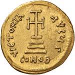 Eraclio (610-641) Solido - Busti diademati ...