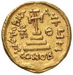 Costante II (641-678) Solido - I tre ...