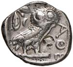 ATTICA Atene Tetradramma (circa 440-400 ...
