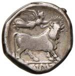 CAMPANIA Neapolis Statere (circa 300-275 ...