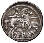MONETE GRECHE Hispania Denario (circa ...