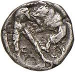 CALABRIA Taranto Obolo (302-228 a.C.) Testa ...