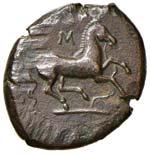 SICILIA Aitna AE (prima del 339 a.C.) Testa ...