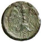 SICILIA Catania Tetras (405-402 a.C.) Testa ...