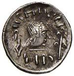 ARABIA Himyariten Dracma (circa 80-10 d.C.) ...