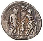Caesia - Lucius Caesius - Denario (112-111 ...