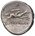 Calpurnia - C. Piso L. f. Frugi - Denario ...