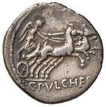 Claudia - C. Claudius Pulcher - Denario ...