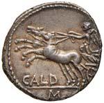 Coelia - C. Coilius Caldus - Denario (104 ...