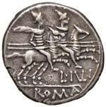 Julia - L. Iulius - Denario (141 a.C.) Testa ...
