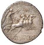 Julia - L. Julius Bursio - Denario (85 a.C.) ...