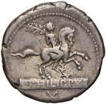 Marcia - L. Philippus - Denario (113-112 ...