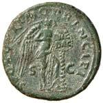 Traiano (98-117) Asse - Testa laureata a d. ...