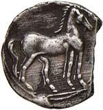 ZEUGITANIA Cartagine 1/4 di Shekel (circa ...