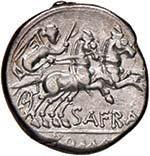Afrania - Spurius Afranius - Denario (150 ...