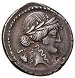 Clodia (42 a.C.) Denario ...
