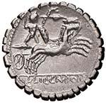 Cosconia - L. Cosconius M. f. - Denario (118 ...