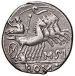 Curtia - Q. Curtius - Denario (116-115 a.C.) ...