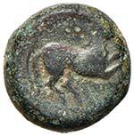 SICULO PUNICHE Bronzetto (III sec. a.C.) ...