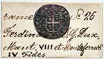 CASALE Ferdinando Gonzaga (1612-1626) 3 ...