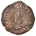 CORREGGIO Anonime (1559-1580) Quattrino con ...