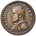 FERRARA Alfonso I (1505-1534) Medaglia con ...
