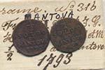 MANTOVA Francesco II (1792-1797) Mezzo soldo ...