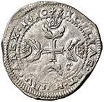 MESSINA Filippo III (1598-1621) Mezzo scudo ...