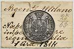 MILANO Napoleone (1805-1814) Lira 1814 ...