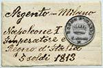 MILANO Napoleone (1805-1814) 5 Soldi 1813 - ...