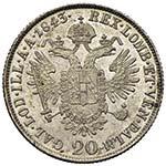 MILANO Ferdinando I (1835-1848) 20 Kreuzer ...