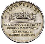 MILANO Ferdinando I (1835-1848) Mezza lira o ...