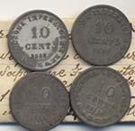 MILANO Lotto di quattro monete da 10 ...