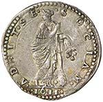 MODENA Cesare d'Este (1597-1628) Lira 1611 ...