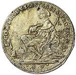 MODENA Rinaldo (1706-1737) Mezzo ducato 1732 ...
