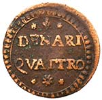 MODENA Ercole III (1780-1796) 4 Denari - MIR ...