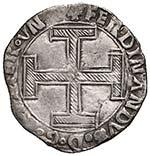 NAPOLI Ferdinando I (1458-1494) Coronato - ...