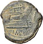 Sesto Pompeo (+ 35 a.C.) Asse (zecca ...